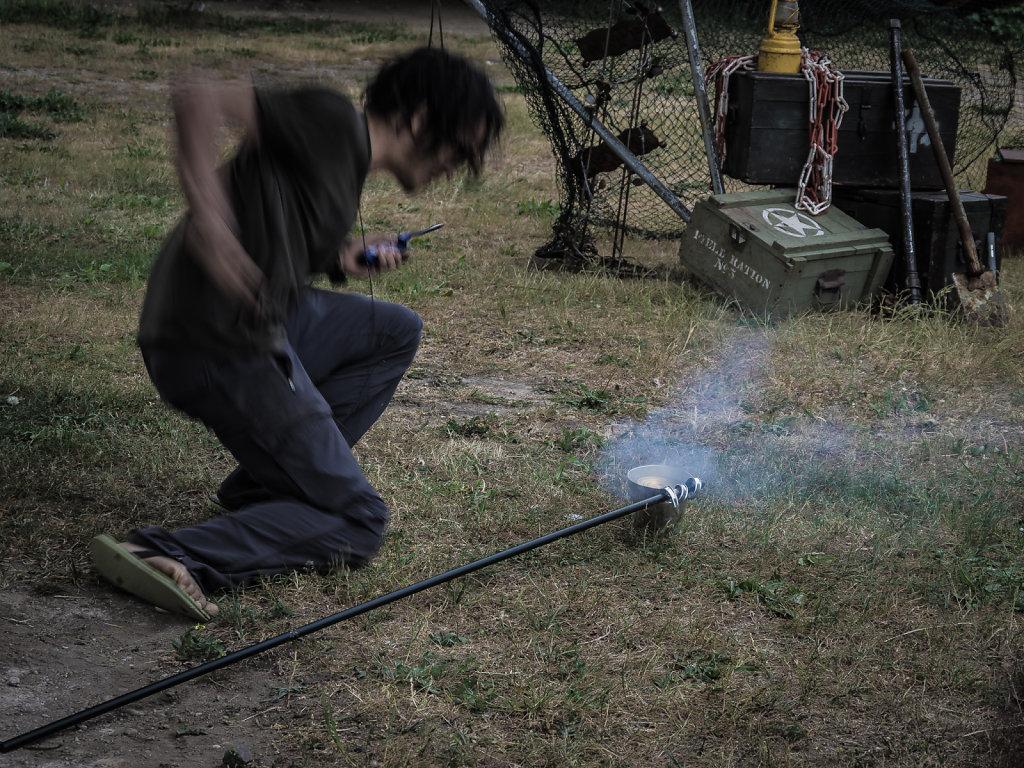 Pyro testing